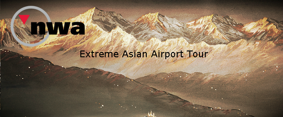 Extreme Asian Airport Tour